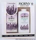 Morny Englische Seife Geschenkset Lavendel - Talk + Luxus Seife