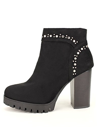 Cendriyon Lows Boots Black Milissa Chaussures Femme Noir