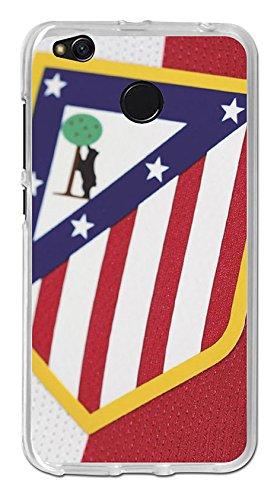 Becool TPU-XI035-ATM08 - Funda Gel Flexible Atlético de Madrid para Xiaomi Redmi 4X diseño escudo 1, Multicolor