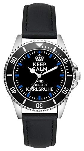 Keep Karlsruhe Geschenk Artikel Idee Fan Uhr L-1564