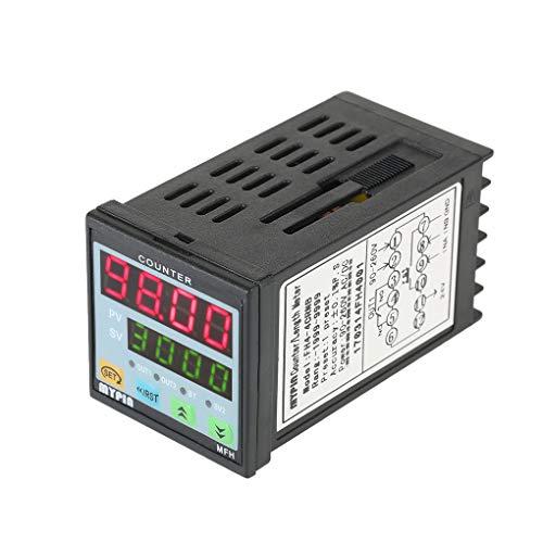 Lorjoyx Mypin Multiuso Preset 4 contatore Digitale Intelligente 90-265V AC/DC Lunghezza contatore Lunghezza Output Meter Macchina di inoltro PNP NPN
