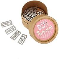 NiceButy 1 caja (20 piezas) de metal Marcadores lindo de dibujos animados hueco dardos Marcador Línea Multi usos Página marcador de línea Herramientas y decoraciones