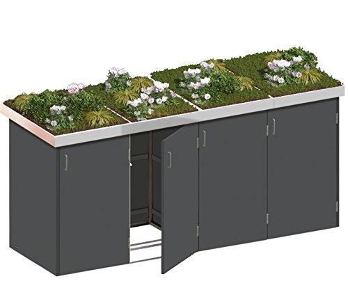 Binto Mülltonnenbox Grundgestell