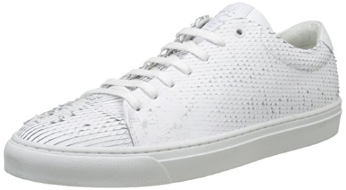 Jim Rickey Club, Baskets Basses Homme Blanc (White)