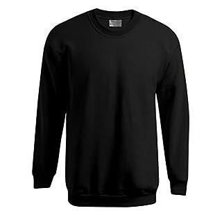 Promodoro Premium Sweatshirt Plus Size Herren, 4XL, Schwarz
