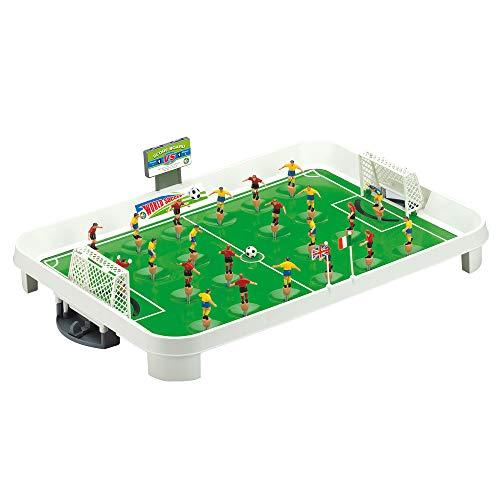 Sfida tra Campioni - Calcetto a Molla da Tavolo - Grandi Giochi GG51701 - Gioco Calcio