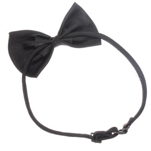SODIAL (R) Hunde Katzen Haustier Fliege krawatte Halsschmuck Halsband Hundefliege Hundekrawatte dog Pet tie Necktie