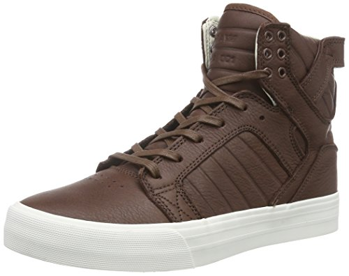 Supra Skytop Hf, Baskets hautes mixte adulte Marron - Braun (CHOCOLATE - OFF WHITE   CHO)