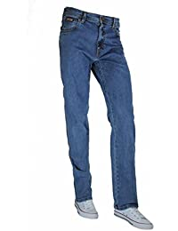 WRANGLER Herren Jeans TEXAS STRETCH Regular Fit, stonewash, 32/32