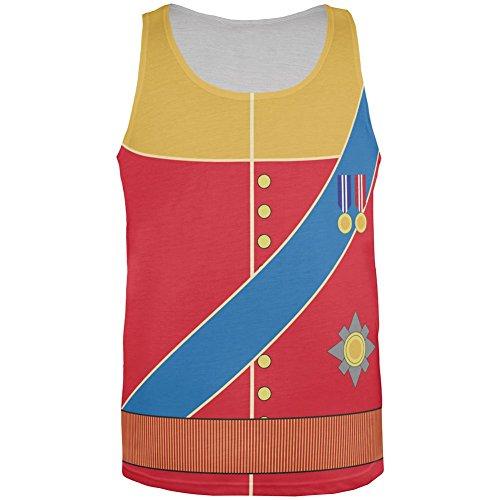 Halloween-Prinz Charmant William Costume aller Herren Tank Top Multicoloured