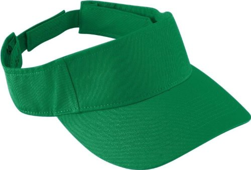 augusta-sportswear-kids-sport-twill-visor-os-kelly-us