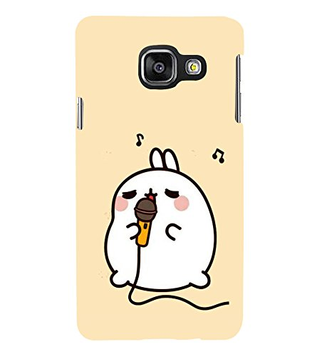 Fuson Designer Back Case Cover for Samsung Galaxy A7 (6) 2016 :: Samsung Galaxy A7 2016 Duos :: Samsung Galaxy A7 2016 A710F A710M A710Fd A7100 A710Y :: Samsung Galaxy A7 A710 2016 Edition (Mike Rabbit Singing karaoke Music)  available at amazon for Rs.347