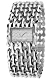 Roberto Cavalli Ladies Oryza Analogue Watch R7253146515 with Quartz Movement, Stainless Steel Bracelet and Silver Dial
