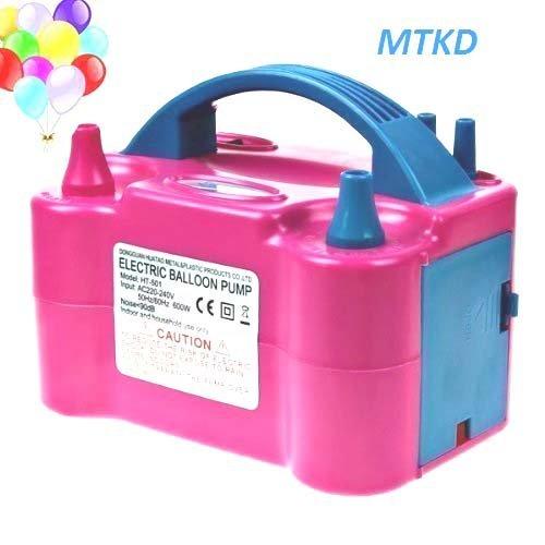 Ballon MTKD, um elektrische Pumpe Ballons aufzublasen. Ideal für Partys und Veranstaltungen. High Power 600W CE-Zertifikat. Fuchsia Farbe. ()
