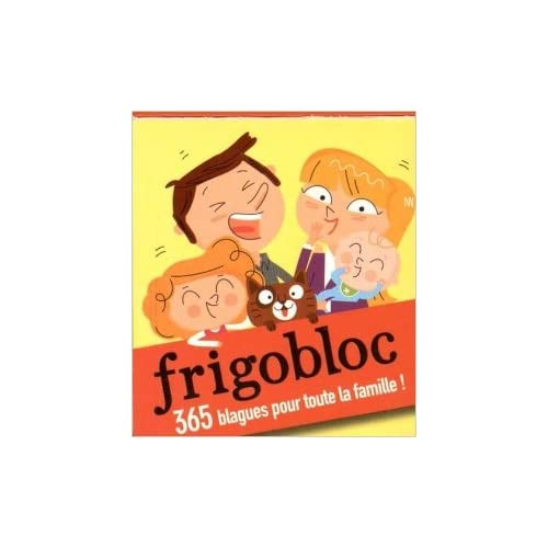 Frigobloc spécial Blagues - 365 blagues maxi aimantées pour toute la famille ! de Collectif ( 17 juin 2015 )