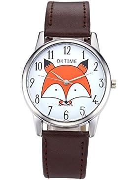 JSDDE Uhren,Fashion Cute Cartoon