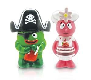 Yo Gabba Gabba Brobee and Foofa 2 Pack Figurine Set