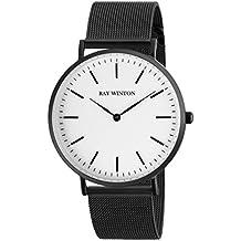 Ray Winton Herren-Armbanduhr Analog Weiß Zifferblatt