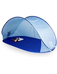 Tienda de campaña Pop Up para playa Adella, portwave, protección UV 60, color azul