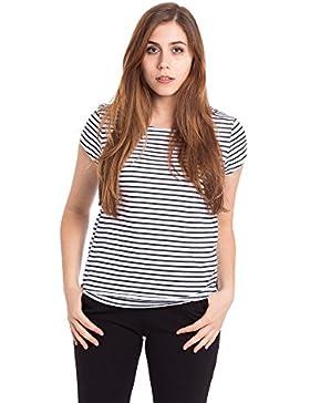 Abbino 37024 Shirts Tops para Mujeres - Hecho en ITALIA - 3 Colores - Entretiempo Primavera Verano Otoño Casual...