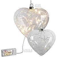 Suchergebnis Auf Amazon De Fur Deko Herz Aus Glas Beleuchtung