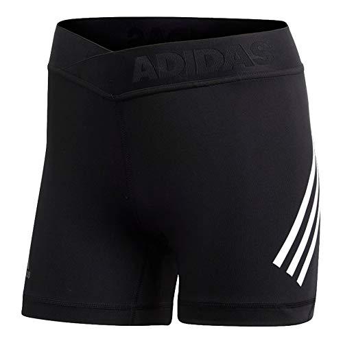 adidas Damen Alphaskin Sport 3-Streifen Tights, Black, M - Amazon Adidas