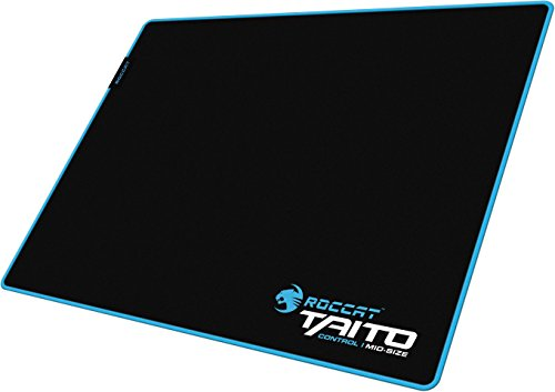 ROCCAT Taito Control Gaming Mousepad (vernähter Rand, 400 x 320 x 3,5mm) schwarz