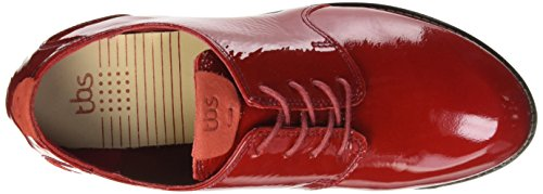 TBS - Merloz, Scarpe stringate Donna Rosso (Rouge (Rubis))
