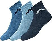 Ranger Sport Men's Heavy Duty Cotton Quarter Athletic Socks, Pack