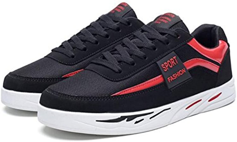 Zapatos de Hombre Zapatillas de Deporte de Cuero con Cordones de Otoño/Invierno Confortables para Zapatillas de  -