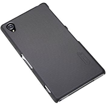 Nillkin Super Frosted Matte Hard Back Cover Case for Sony Xperia Z1 L39h (Black)