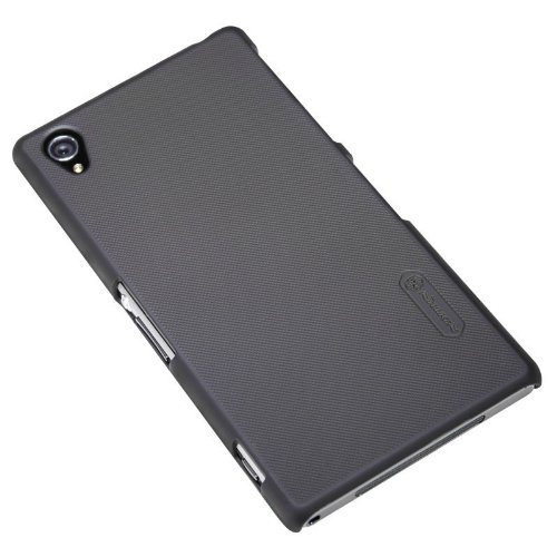 Nillkin Super Frosted Matte Hard Back Cover Case for Sony Xperia Z1 L39h (Black)  available at amazon for Rs.480