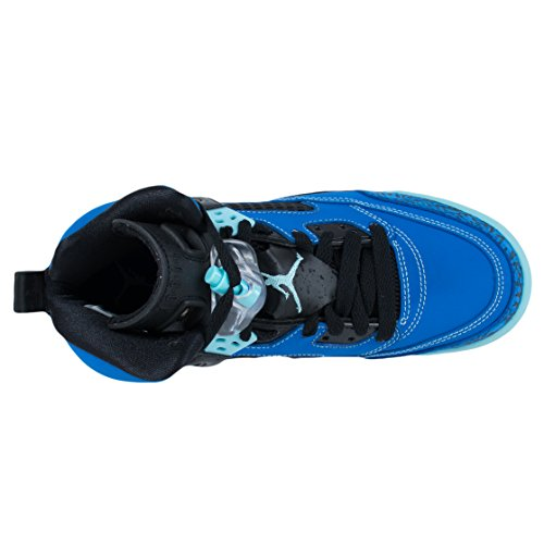 Nike Jordan Spizike Bg, Chaussures de Sport Garçon, Noir Bleu / noir (explosion / Copa - noir)