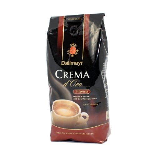 Dallmayr Crema d'Oro Intensa Kaffee Bohnen 8x1 kg