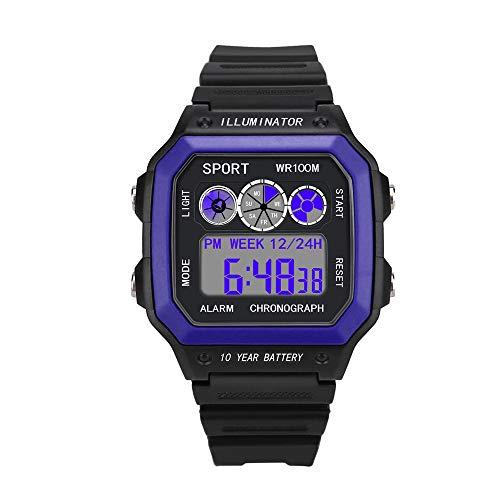 Uhren Herren Sport LED Uhren Digital Militärarmee Quarz Analog Uhr Luxusgeschäfts Uhren Wasserdichte Armbanduhr der Luxusmann Analog Handgelenk Kleine Uhr Klassisch Uhr,YpingLonk
