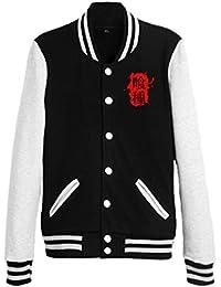 Bromeo Tokyo Ghoul Anime Unisexo Béisbol Uniforme Manga Larga Chaqueta Coat
