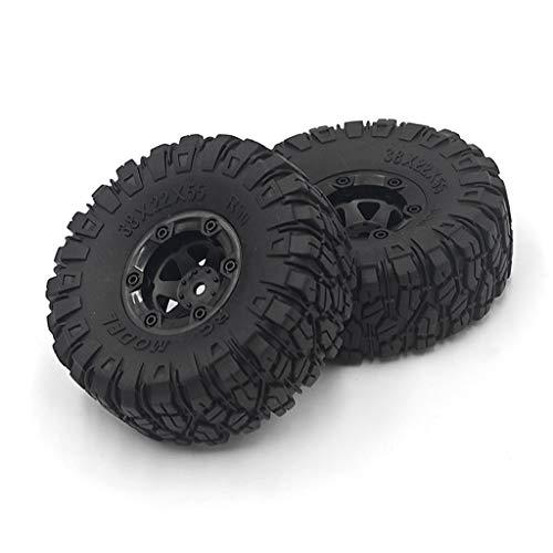 huiouer 2CPS Auto-Reifen Upgrade groß für Wltoys 12428/12423 Feiyue 01/02/03/04/05 JJRC Q39 Q40 Q46 RC Auto Ersatzteile