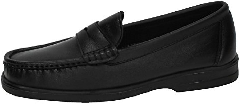 CALZALINE 1180 Mocasines DE Piel Hombre Zapatos MOCASÍN