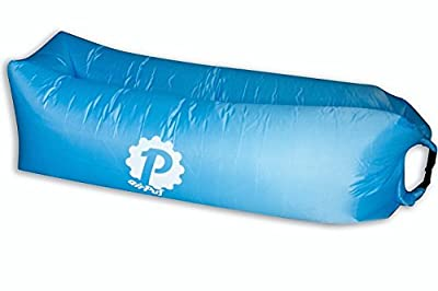 Pevita - airPuf. Inflatable sofa, deckchair. 100% real pictures. Perfect Laybag ideal for the beach, the pool, the garden or the camping. Air mattress in different colours. Lazybag. - inexpensive UK light shop.