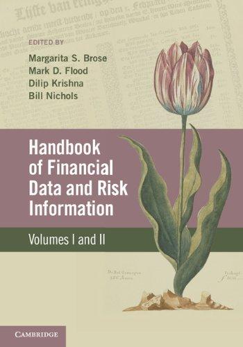 Handbook of Financial Data and Risk Information 2 Volume Hardback Set Red Margarita-set