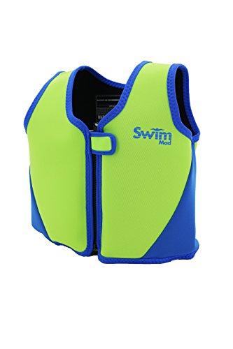 Kinder-Schwimmweste aus Neopren, GELB / SCHWARZ, 18-30KG - 3-6 Jahre (UK Import)