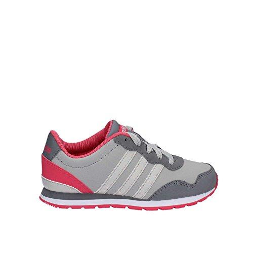 adidas V Jog K, Chaussures de Fitness Mixte Enfant, Girs (Grigio)
