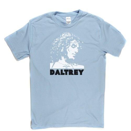 Roger Daltrey English Rock Brit Mod Solo Artist 1 T-shirt Himmelblau