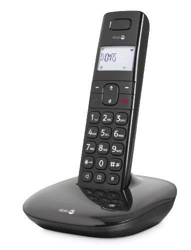 Doro Comfort 1010 Telefono Fijo, plastico, Negro
