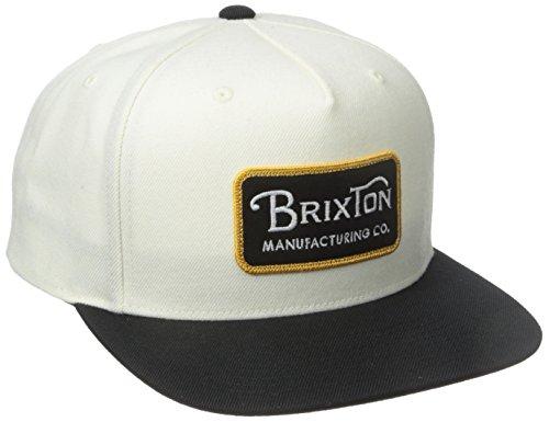 Brixton Grade Snapback Casquette Taille Unique Blanc - Blanc cassé