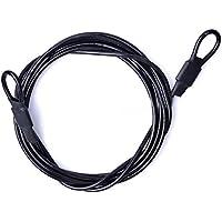 Forfar ciclo del deporte bucle de seguridad Cable de seguridad pesada Deber cuerda de alambre de ropa especial del coche
