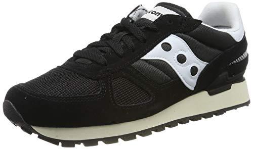 Saucony Shadow Original Vintage, Zapatillas de Cross para Hombre, Negro (Black/White 2), 45 EU
