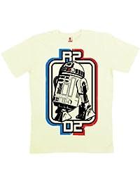Star Wars - R2-D2 Logo T-Shirt 100 % coton organique (agriculture biologique) - blanc - LOGOSHIRT