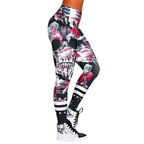 Feytuo Weihnachten Geschenk Damen Yoga Hose High Waist Extra Lang Tights Sexy Weiss Damen Yogahosen Damen Yoga Workout Damen Yoga Anzug Einfarbig Hip Yoga Hosen Sport Rock Hsoen