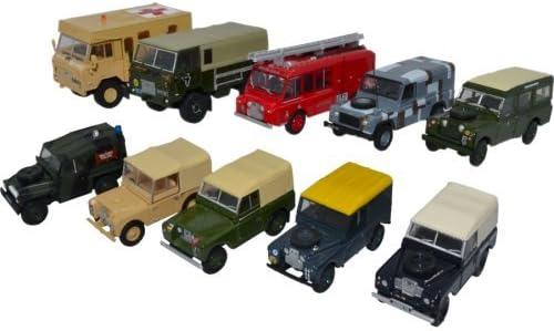 Concours Concours Concours de chaussures folles du nouvel an Land Rover Military 10 Car Set   Authentique  914d7a